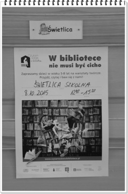 W Bibliotece nie musi byc cicho 018